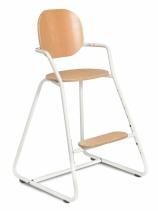 Chaise-haute-tibu-modele-toddler-blanc