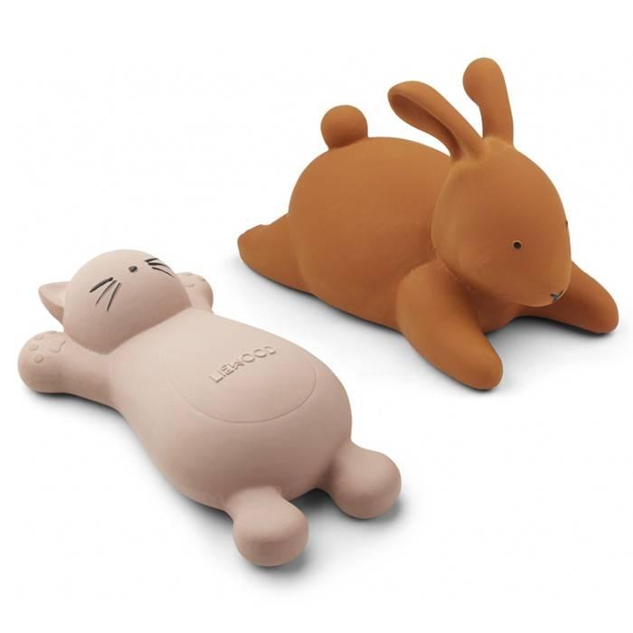 liewood-chat-et-lapin-jouets-de-bain
