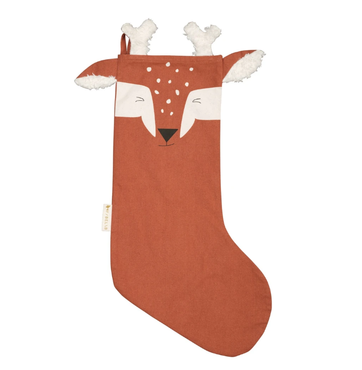 Chaussette de Noël Cerf