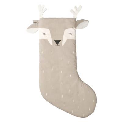 faon-endormi-chaussette-de-noel