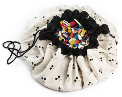 tapis de jeux et sac de rangement cherry gold. Black Bedroom Furniture Sets. Home Design Ideas