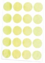 sticker-jaune-rond-pastel-chocovenyl
