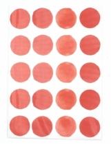 sticker-mural-rouge-pois