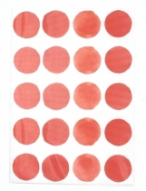 sticker-mural-rouge-pois
