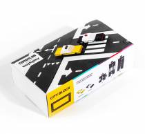 Circuit flexible 12 pcs + 2 voitures City block - Candylab WaytoPlay