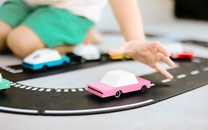 Circuit voiture flexible Openroad - Candylab Way to Play