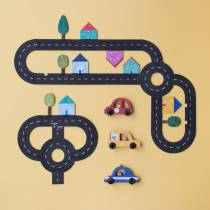 Circuit voiture puzzle - Londji