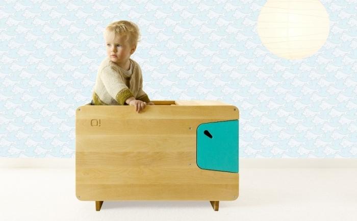 coffre jouet en bois violet aubergine pelican. Black Bedroom Furniture Sets. Home Design Ideas