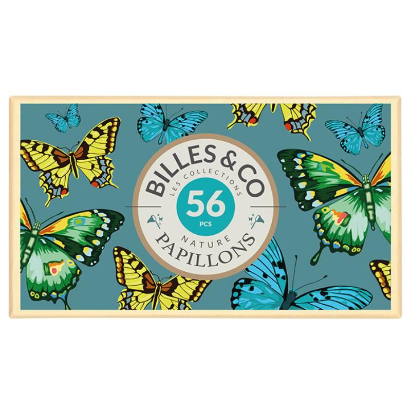 magnifique-croffret-de-56-billes-theme-papillon
