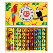 Coffret de 52 billes Jungle - Billes & Co