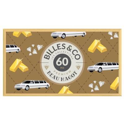 Coffret de 60 billes Beau magot - Billes & Co