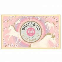 Coffret de 62 billes Licorne - Billes & Co