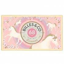 Coffret de 62 billes Licorne - Billes & Co