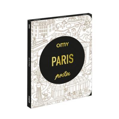 Coloriage Pocket - Paris - Omy