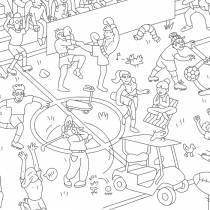 poster-geant-sport-club-coloriage-enfant