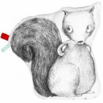 Ikyome-coussin-coton-forme-ecureuil