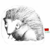 coussin-en-coton-blanc-illustration-leon-herisson