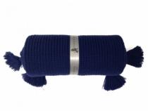 Jolie-couverture-laine-bleue-marine-bebe