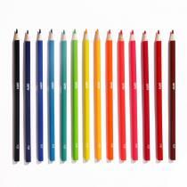 Crayons de couleur Pop - étui de 16 - Omy