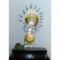 sticker-enfant-little-big-man-deco-indien