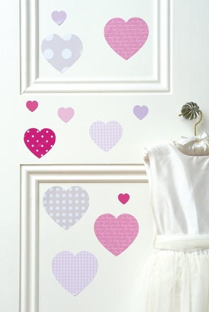 Décoration-coeur-porte-chambre-enfant