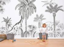papier-peint-decor-epoque-jurassique