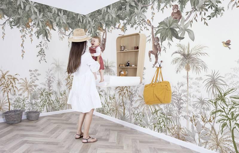 lilipinso-orang-outan-foret-decor-mural