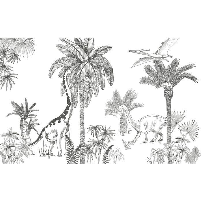papier-peint-decor-mural-dinosaure