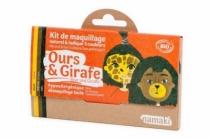 Maquillage-bio-namaki-deguisement-ours-girafe