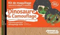 maquillage-dinosaure-camouflage-militaire-enfant