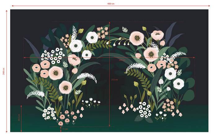 lilipinso-arche-de-fleurs-fond-sombre-dimensions