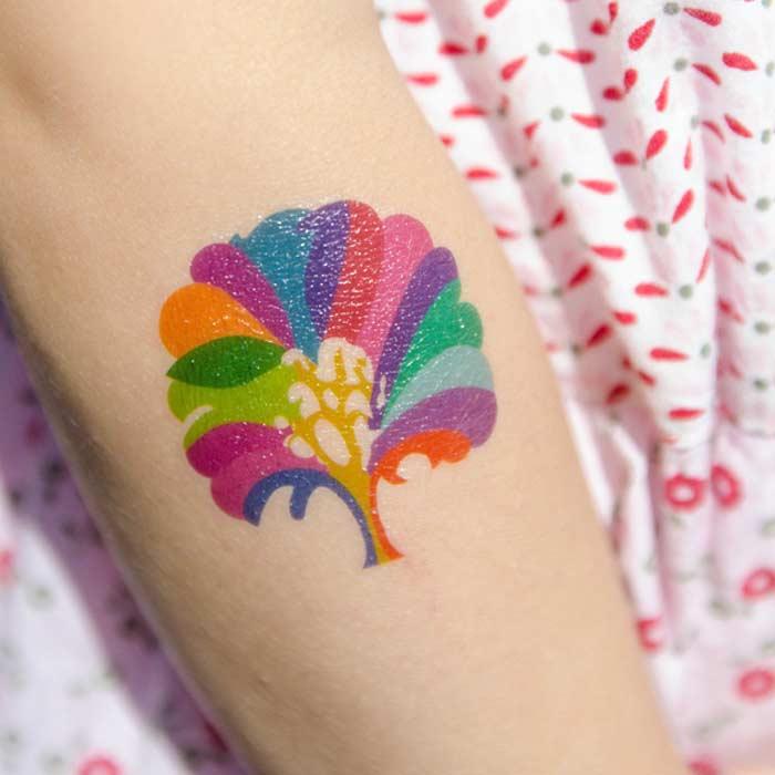 Tatouages-arbres-multicolores-dottinghill