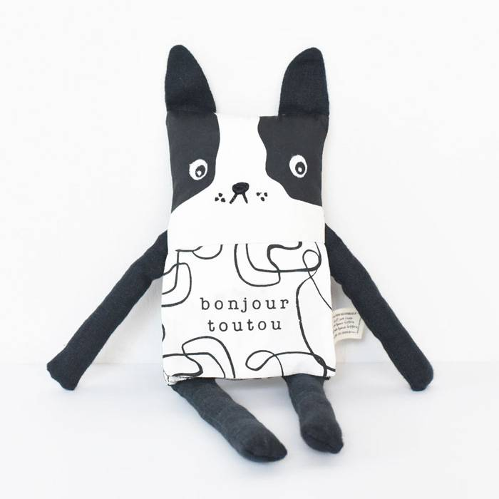 Doudou poupée livre - Flippy friend - Wee Gallery