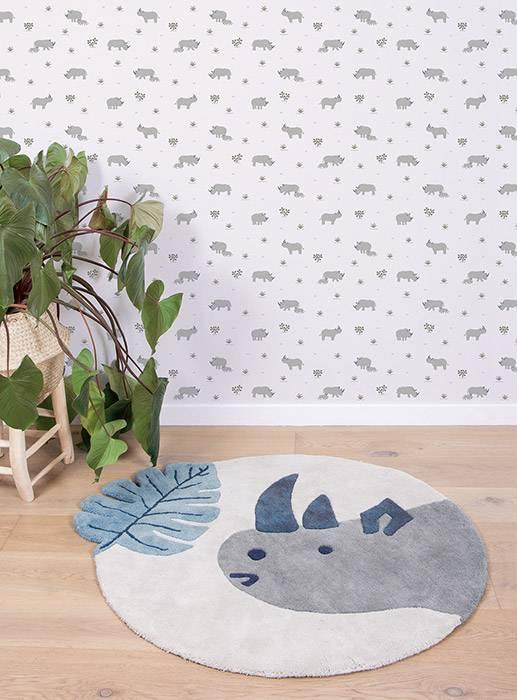 papier-peint-illustration-rhinoceros-lilipinso