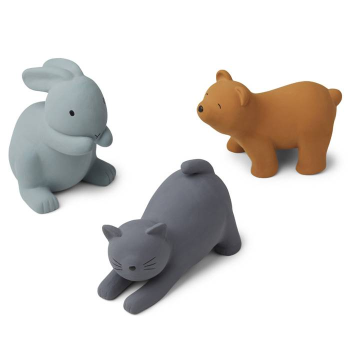 liewood-3-figurines-chat-lapin-ours-bleu
