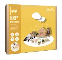 GIGI - 30 briques en carton M - Chat