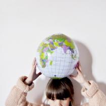 Globe-mappemonde-gonflable