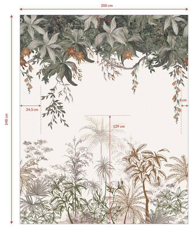 theme-jungle-papier-peint-decor-mural