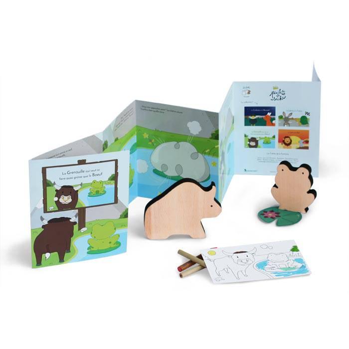 jouet-bois-livre-grenouille-boeuf