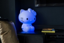 Lampe-design-chat-hello-kitty-en-bleu