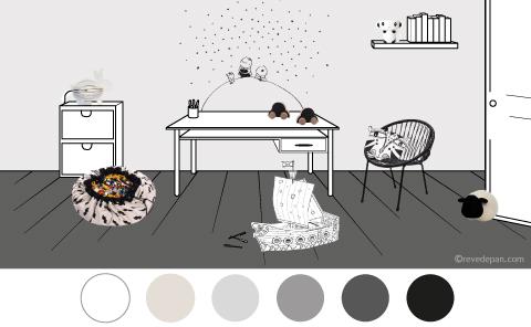 chambre-enfant-couleur-noir-et-blanc
