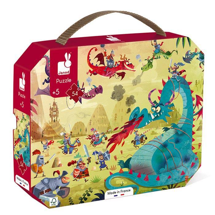 dragons-et-chevaliers-puzzle-54pcs