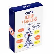 Jeu de 7 familles à colorier - City - Omy
