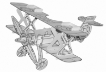 Avion-carton-jouet-loisir-creatif