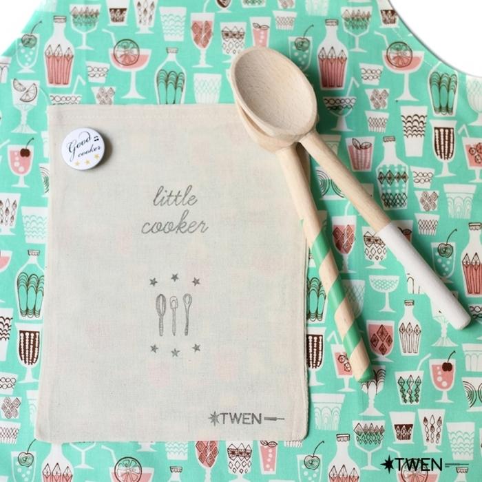 Kit-enfant-tablier-cuisine-et-cuillere-bois-twen