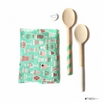 Kit-tablier-enfant-cuillere-bois-twen-menthe