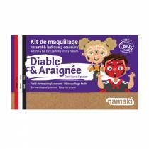 maquillage-bio-halloween-diable-araignee
