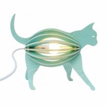 chat-lampe-design-bleu