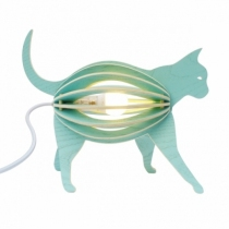 chat-lampe-design-bleu