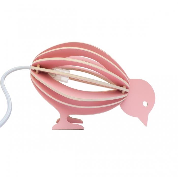lampe-design-oiseau-rose
